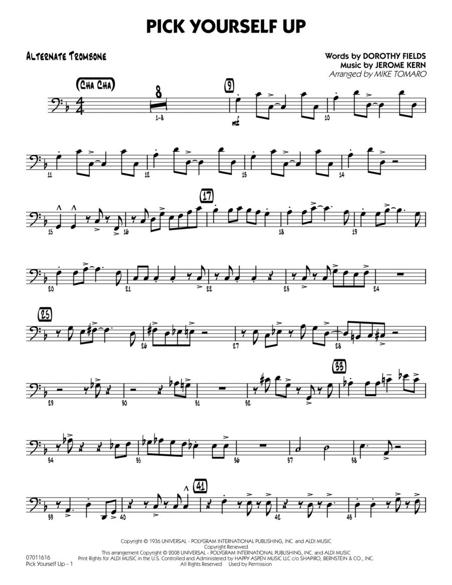 Pick Yourself Up - Alternate Trombone