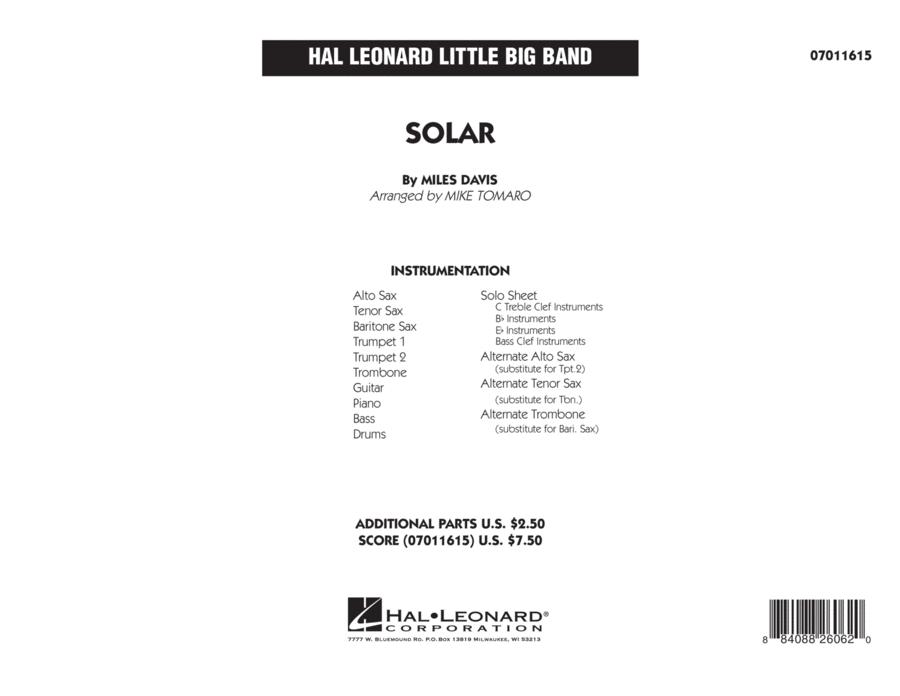 Solar - Conductor Score (Full Score)