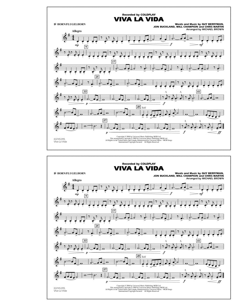 Viva La Vida - Bb Horn/Flugelhorn
