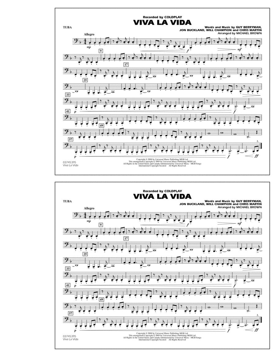 Viva La Vida - Tuba