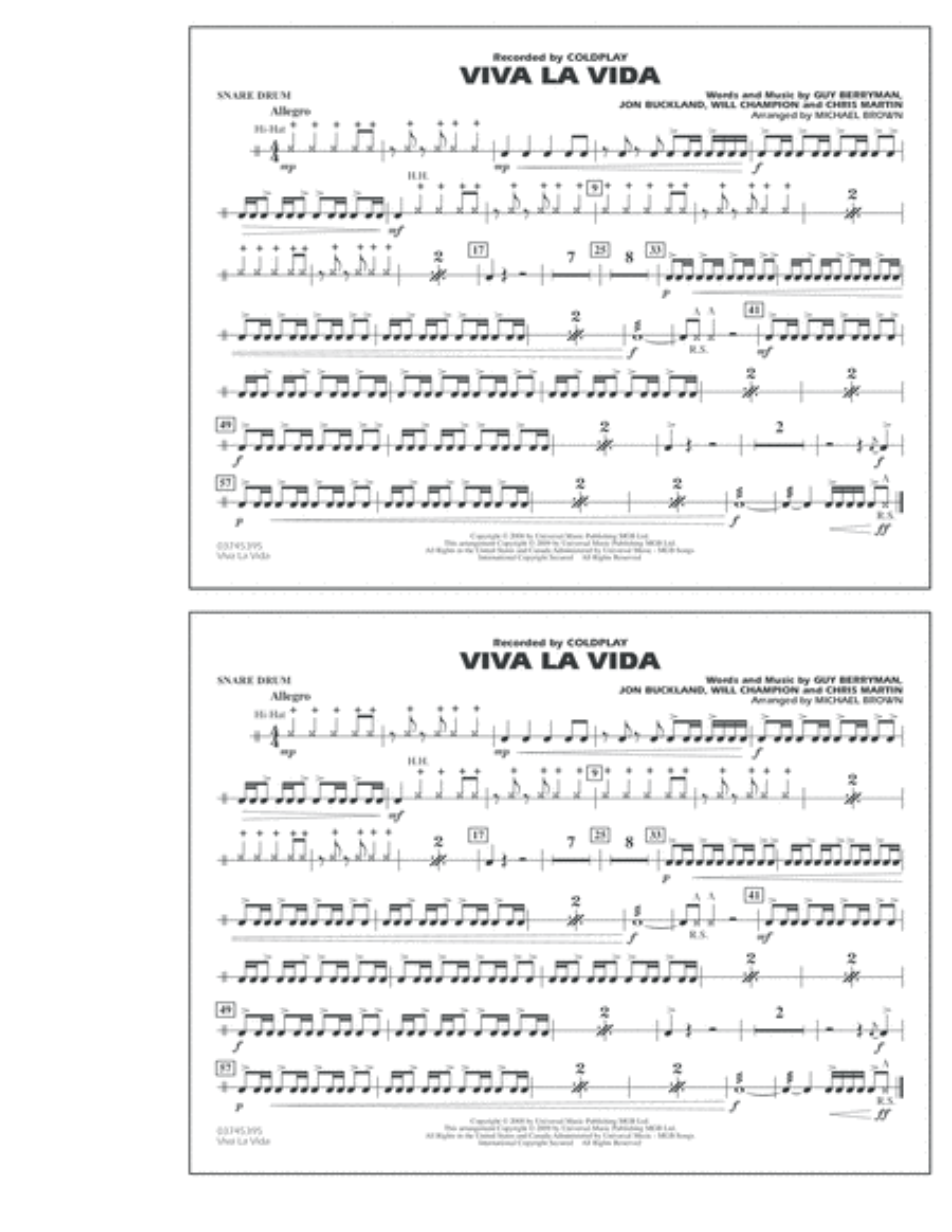Guitar Chords For Viva