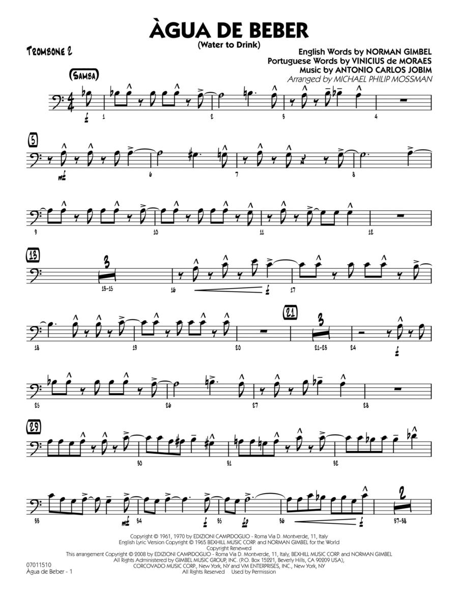 Agua de Beber (Water to Drink) - Trombone 2
