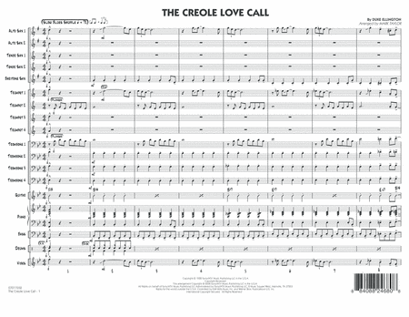 The Creole Love Call - Full Score