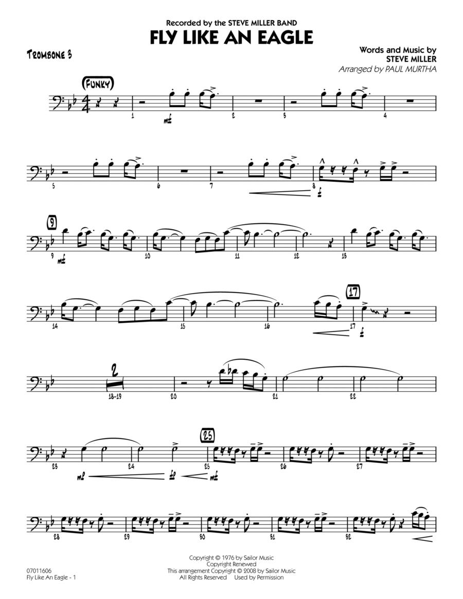 Fly Like An Eagle - Trombone 3