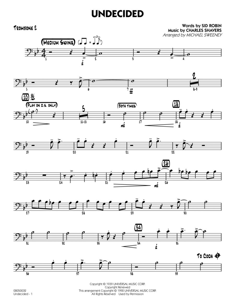Undecided - Trombone 2