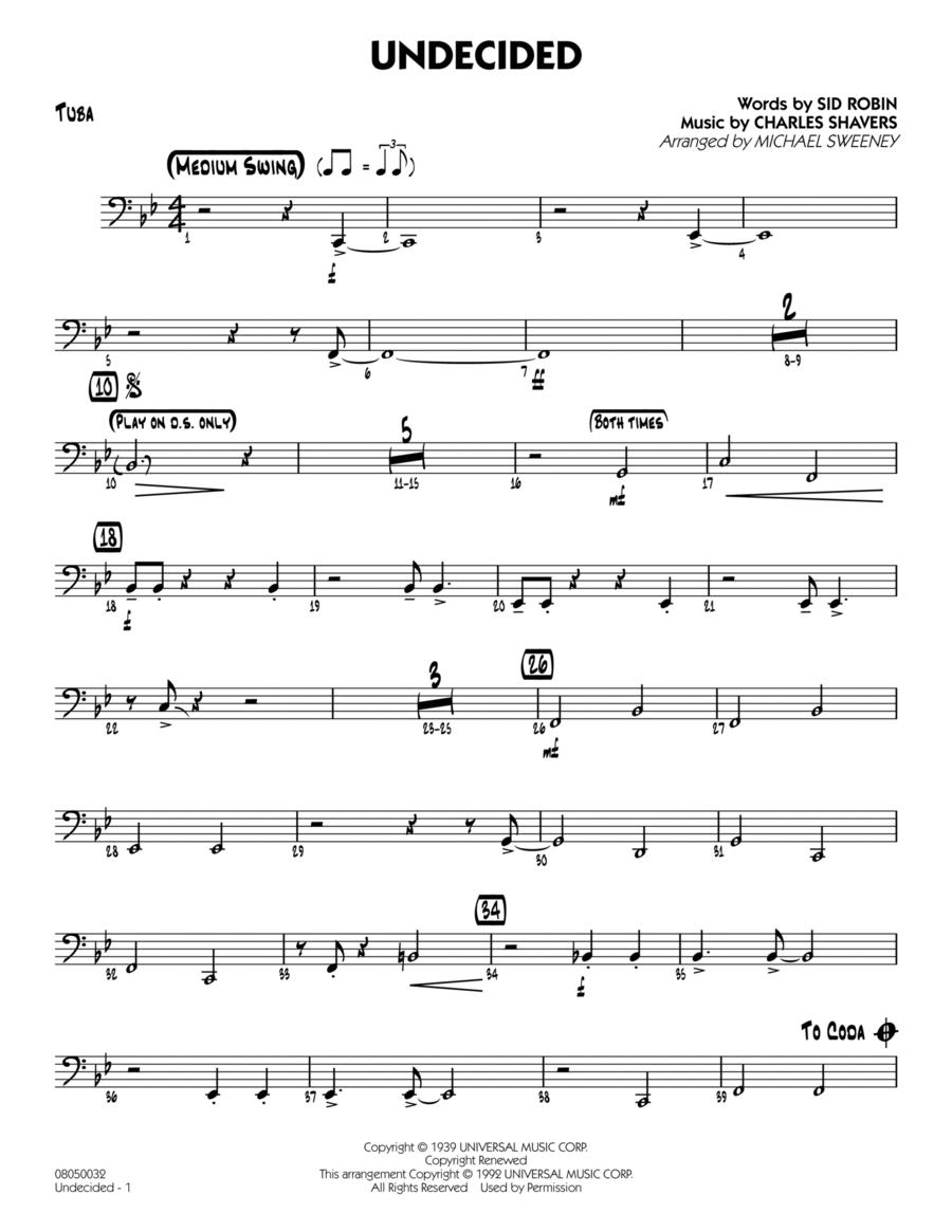 Undecided - Tuba