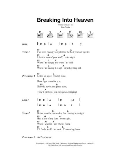 Breaking Into Heaven