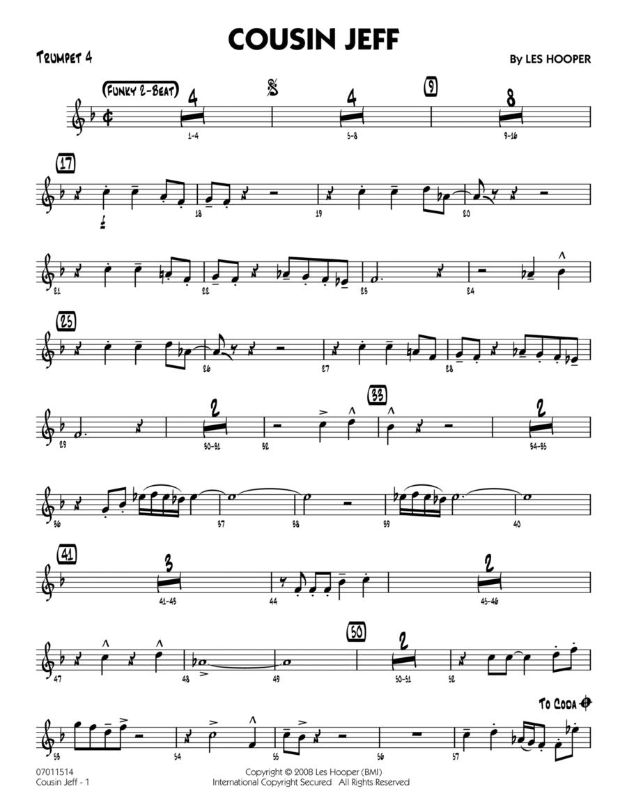 Cousin Jeff - Trumpet 4