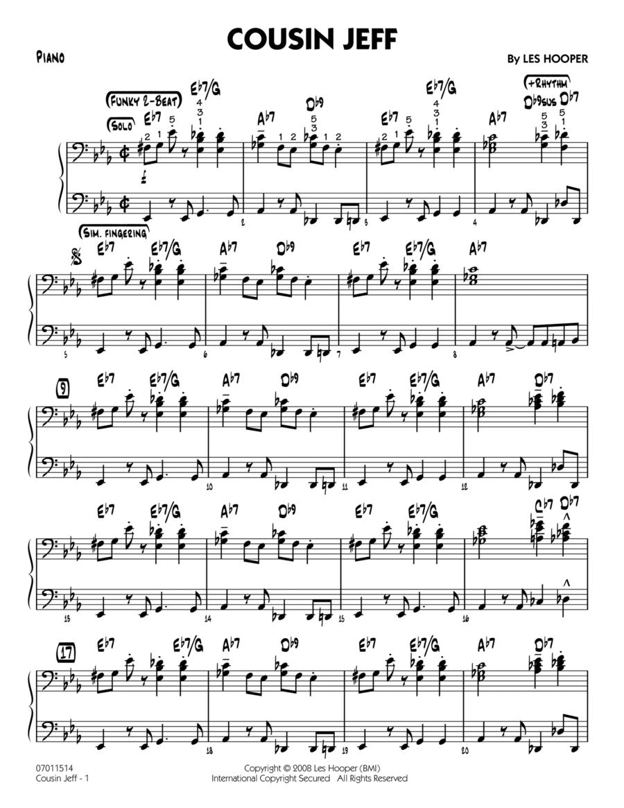 Cousin Jeff - Piano