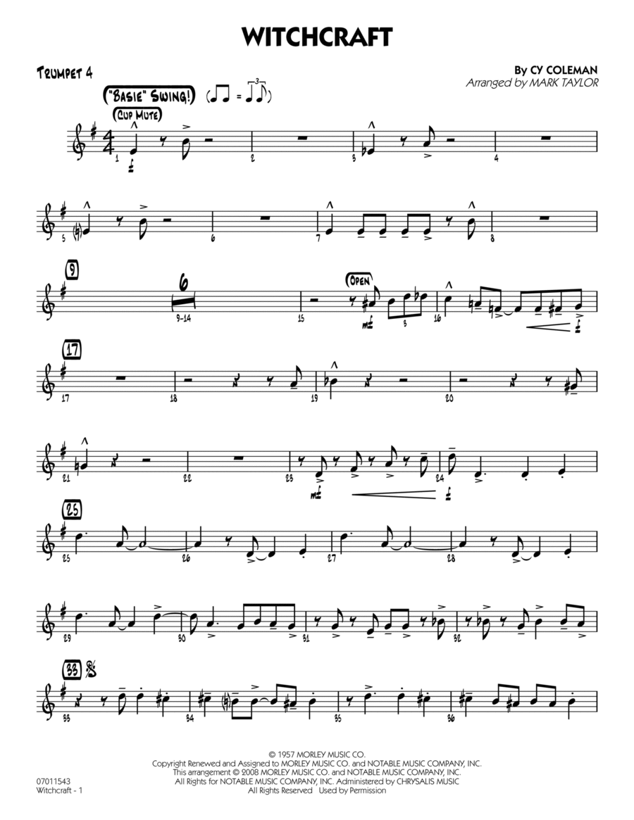 Witchcraft - Trumpet 4