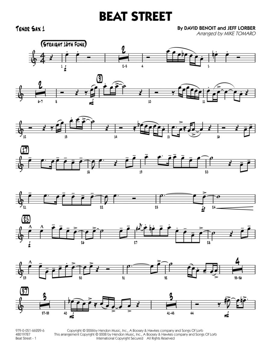 Beat Street - Tenor Sax 1