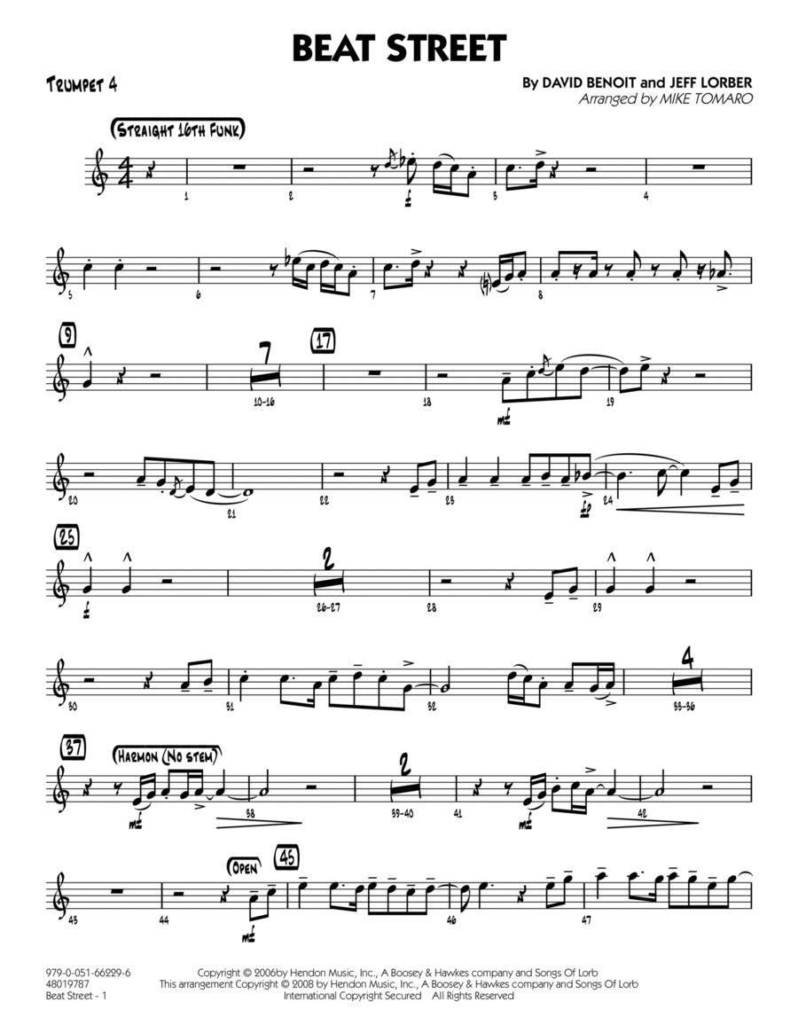 Beat Street - Trumpet 4
