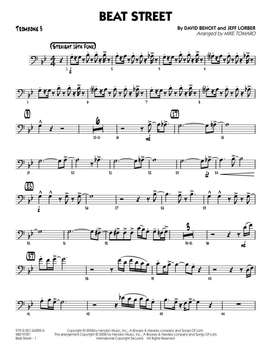 Beat Street - Trombone 3