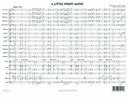 A Little Night Music - Full Score