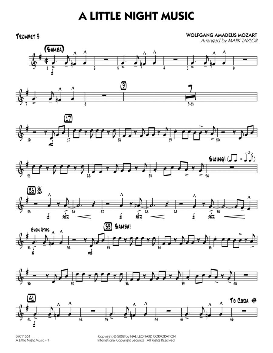 A Little Night Music - Trumpet 3