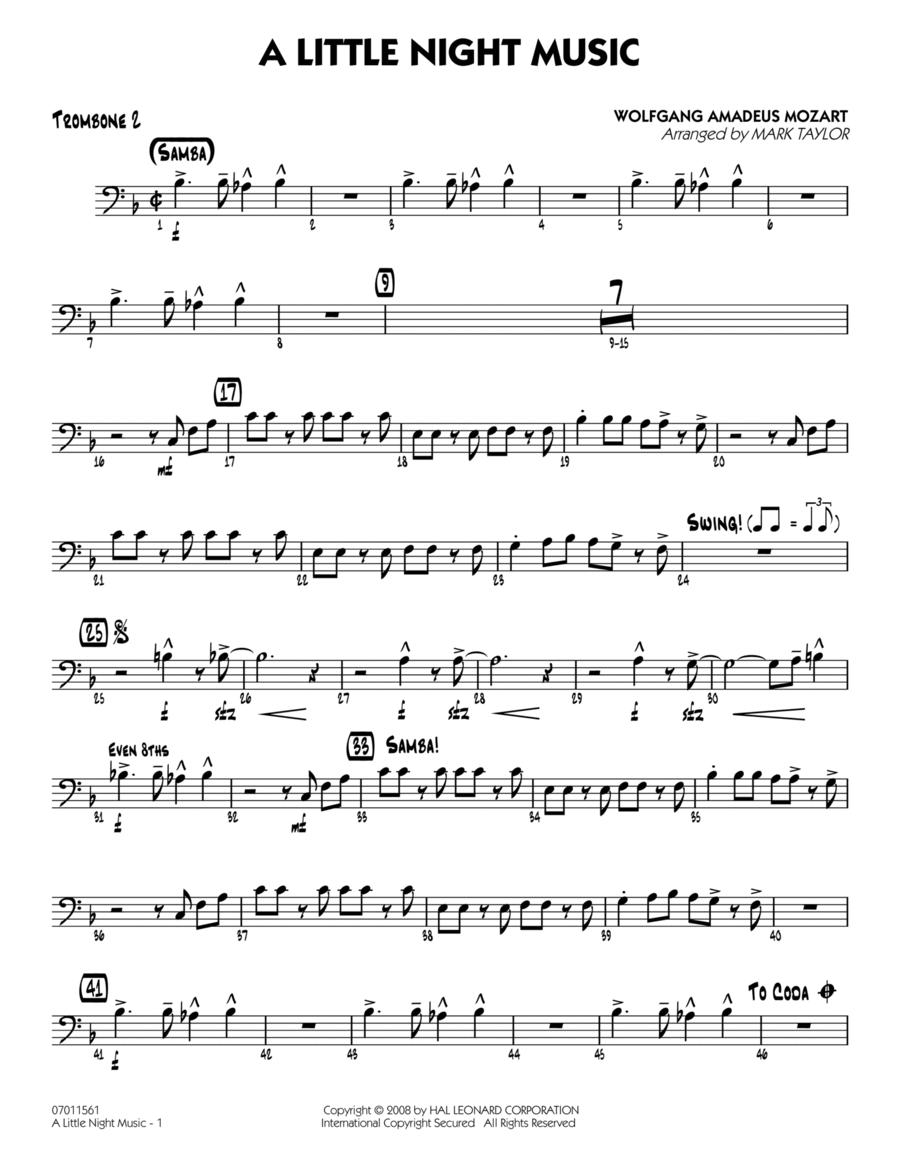 A Little Night Music - Trombone 2