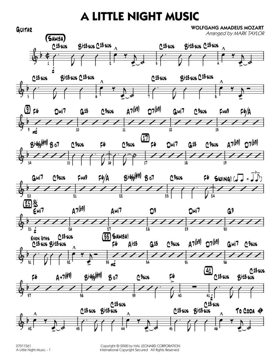A Little Night Music - Guitar