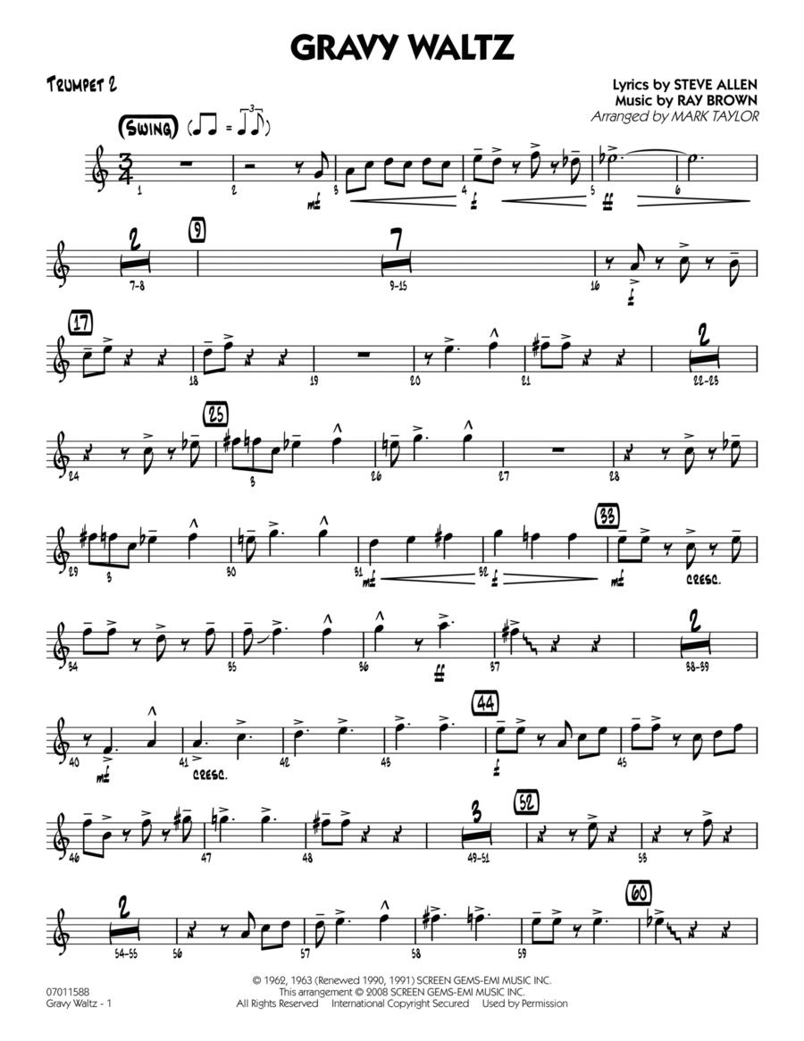 Gravy Waltz - Trumpet 2