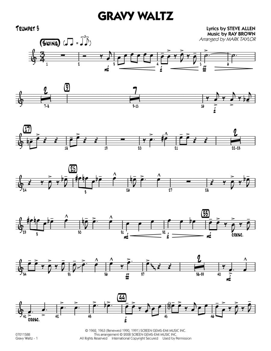 Gravy Waltz - Trumpet 3