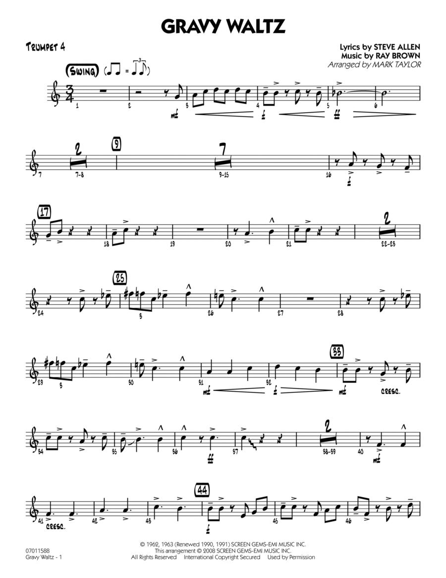 Gravy Waltz - Trumpet 4