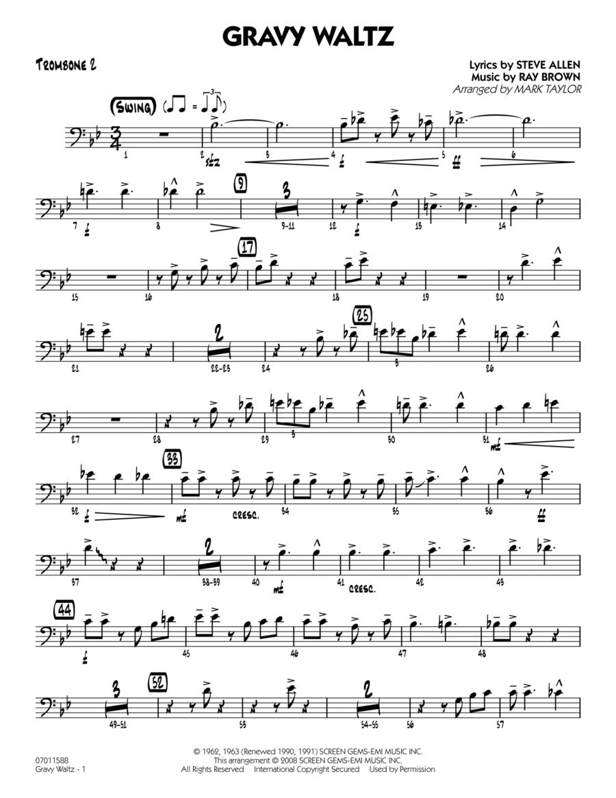 Gravy Waltz - Trombone 2