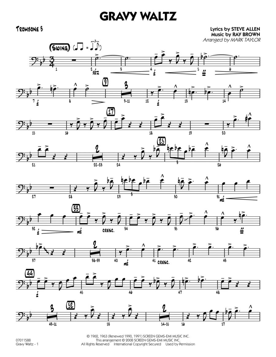 Gravy Waltz - Trombone 3