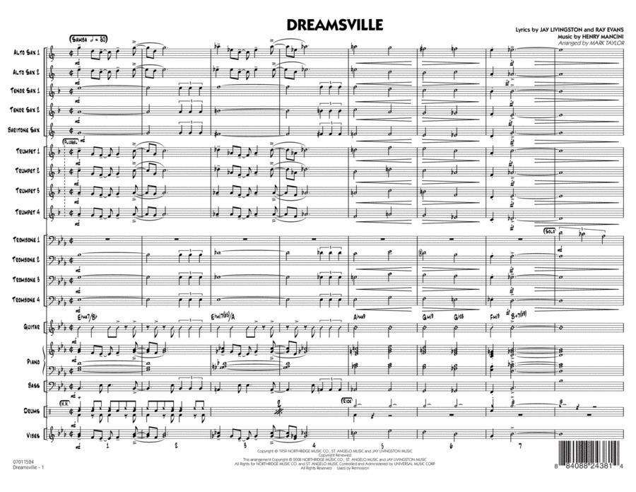 Dreamsville - Conductor Score (Full Score)