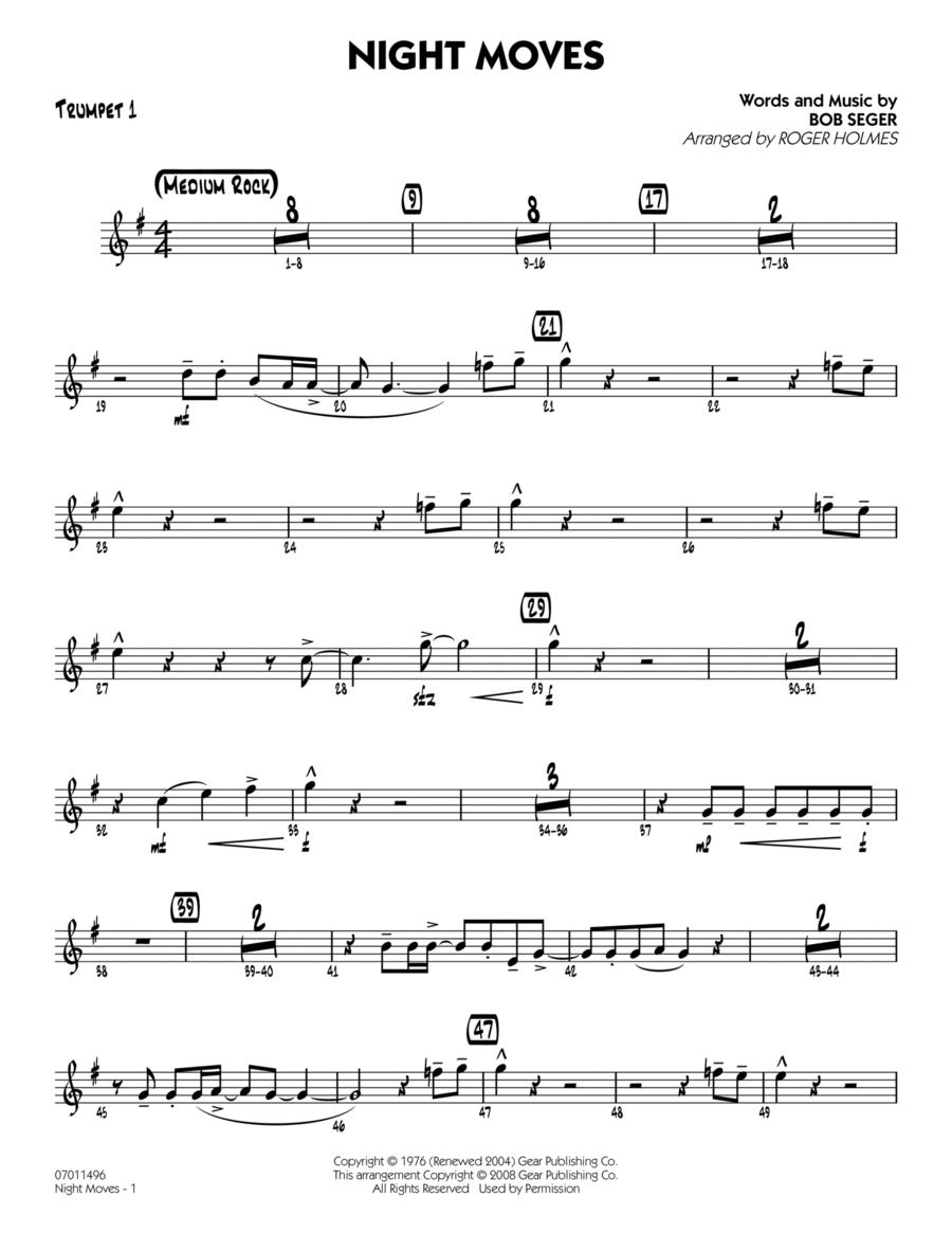 Night Moves - Trumpet 1