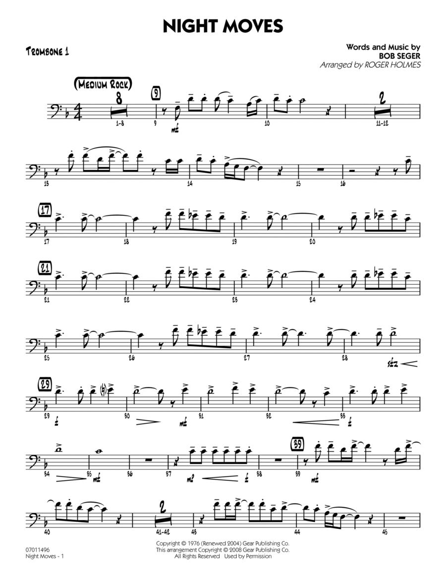 Night Moves - Trombone 1