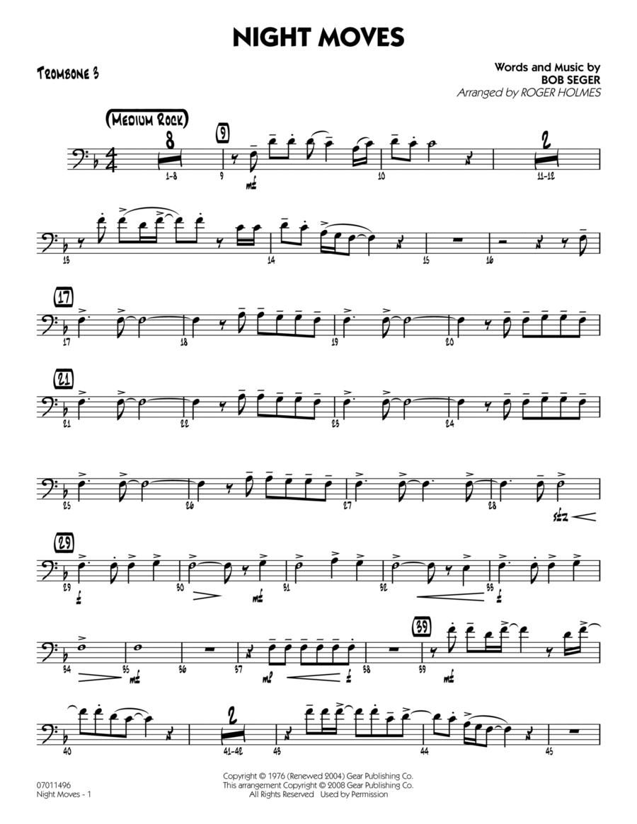Night Moves - Trombone 3