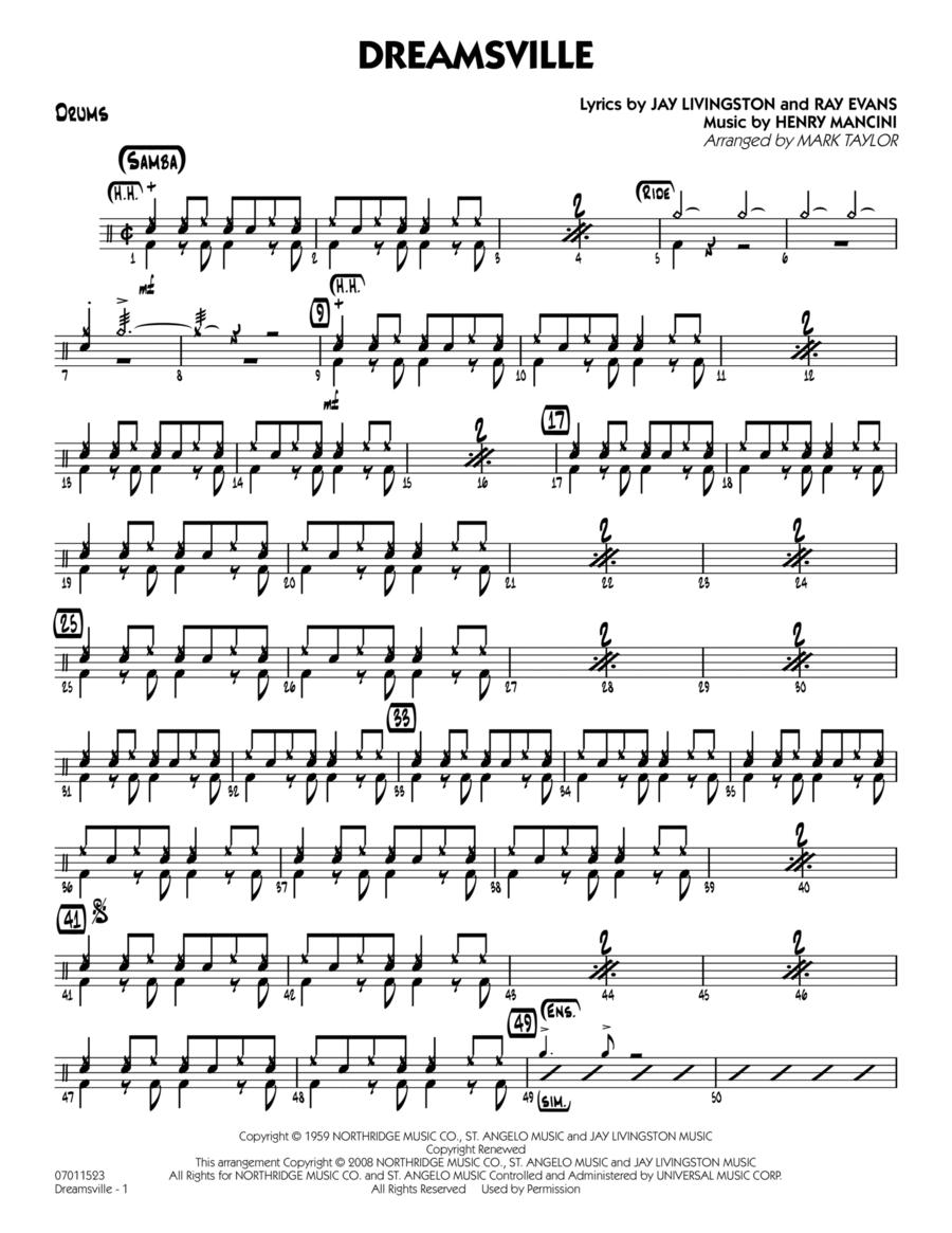 Dreamsville - Drums
