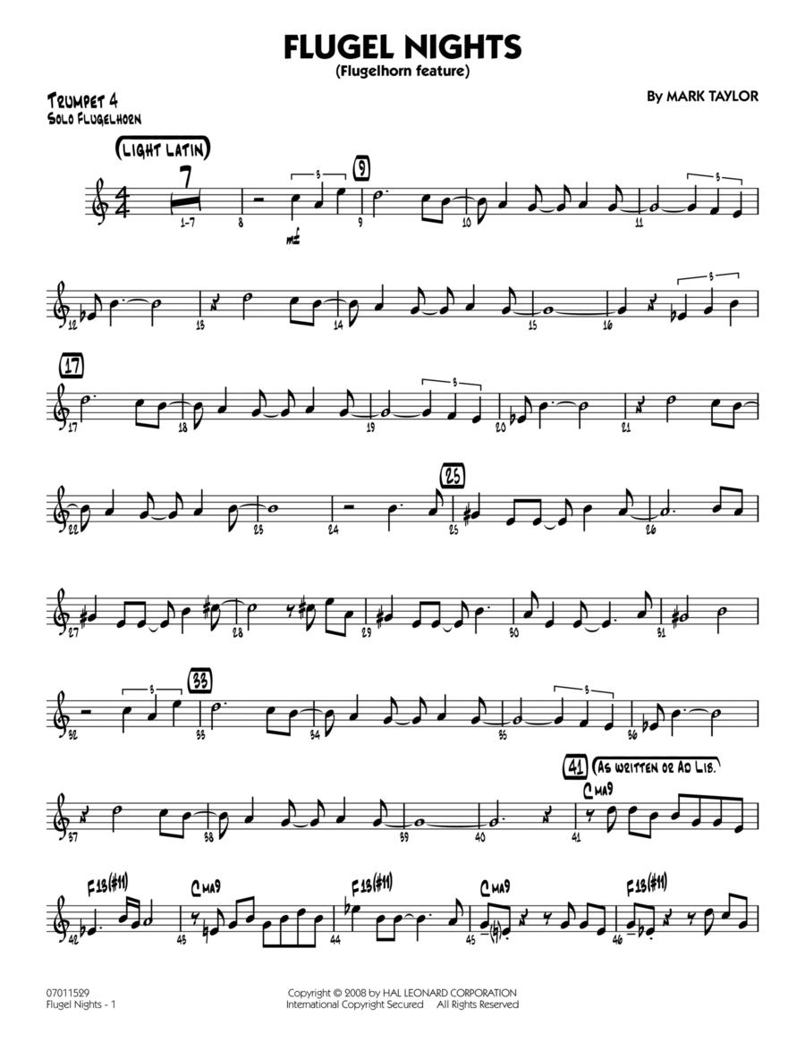 Flugel Nights (Flugelhorn Feature) - Trumpet 4