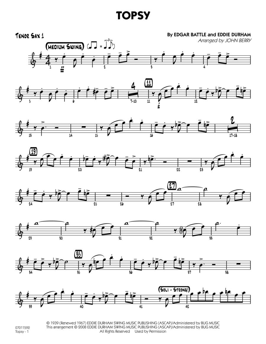 Topsy - Tenor Sax 1