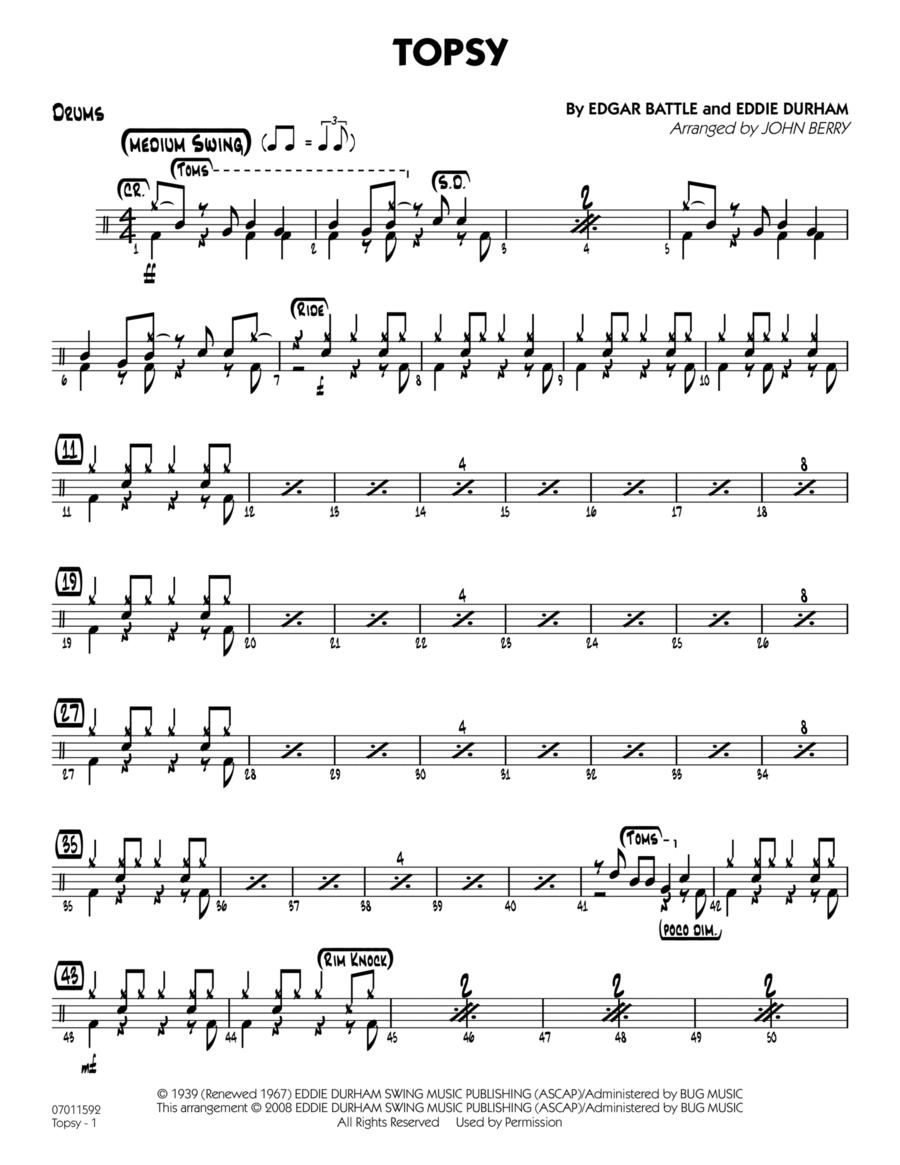 Topsy - Drums