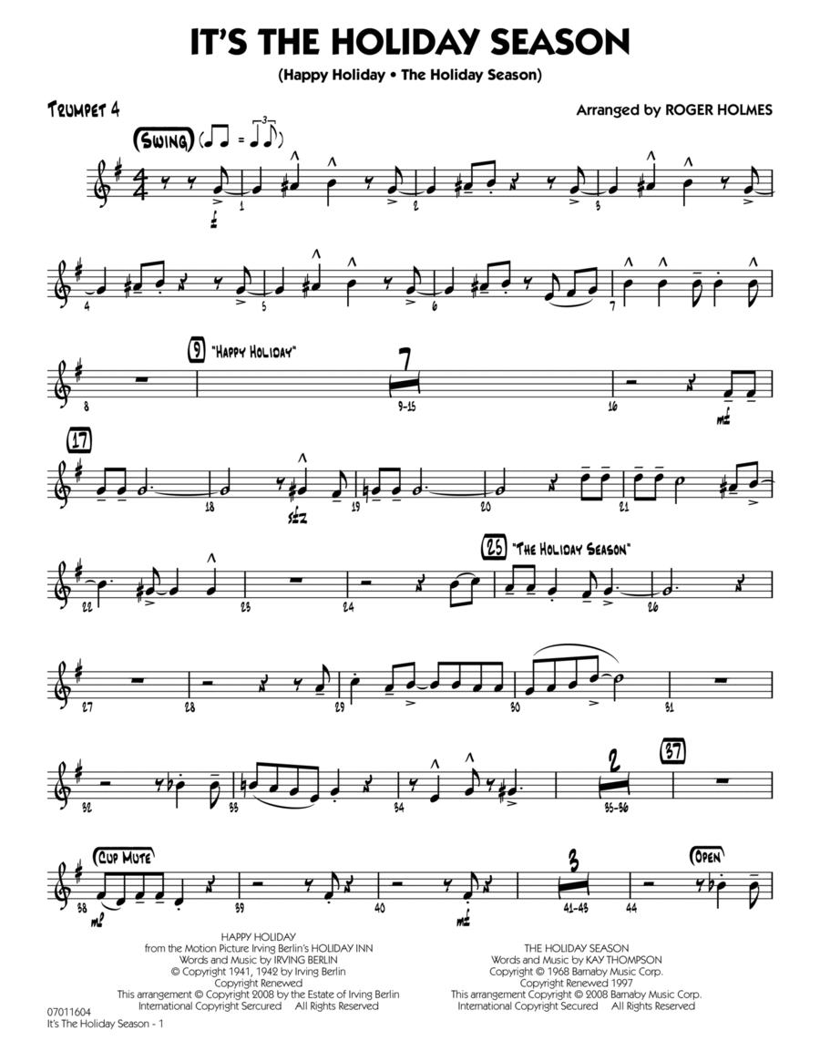 The Holiday Season - Trumpet 4