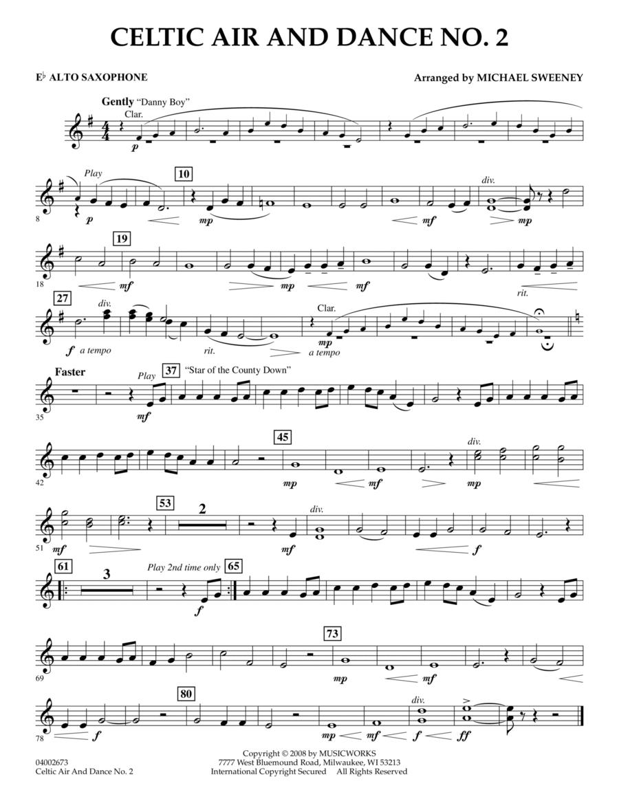 Celtic Air and Dance No. 2 - Eb Alto Saxophone