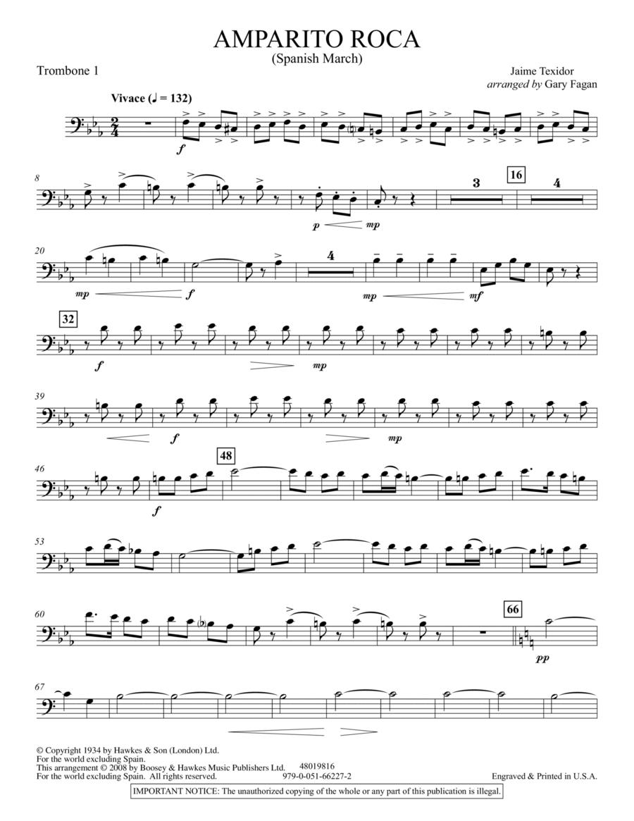 Amparito Roca - Trombone 1