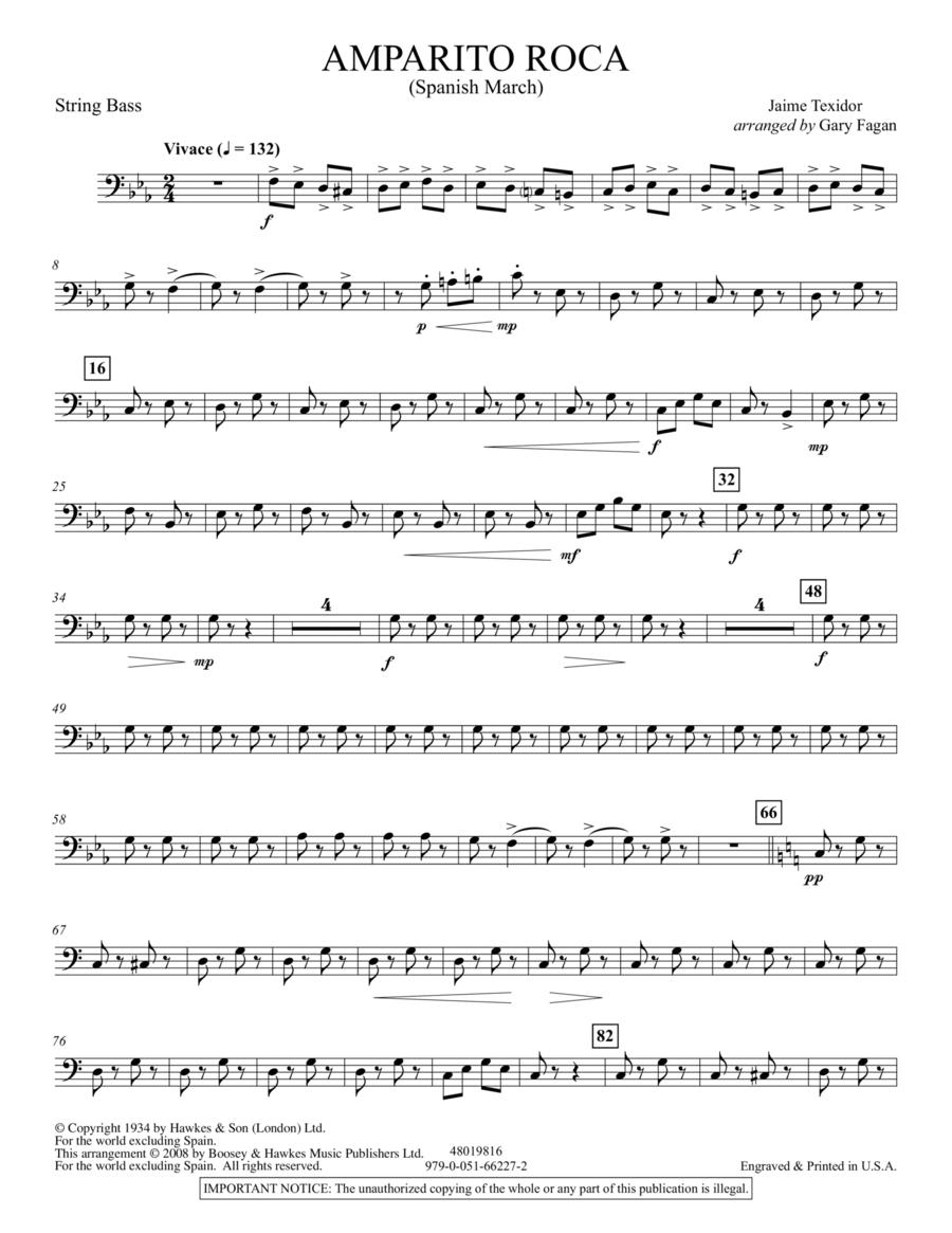 Amparito Roca - String Bass