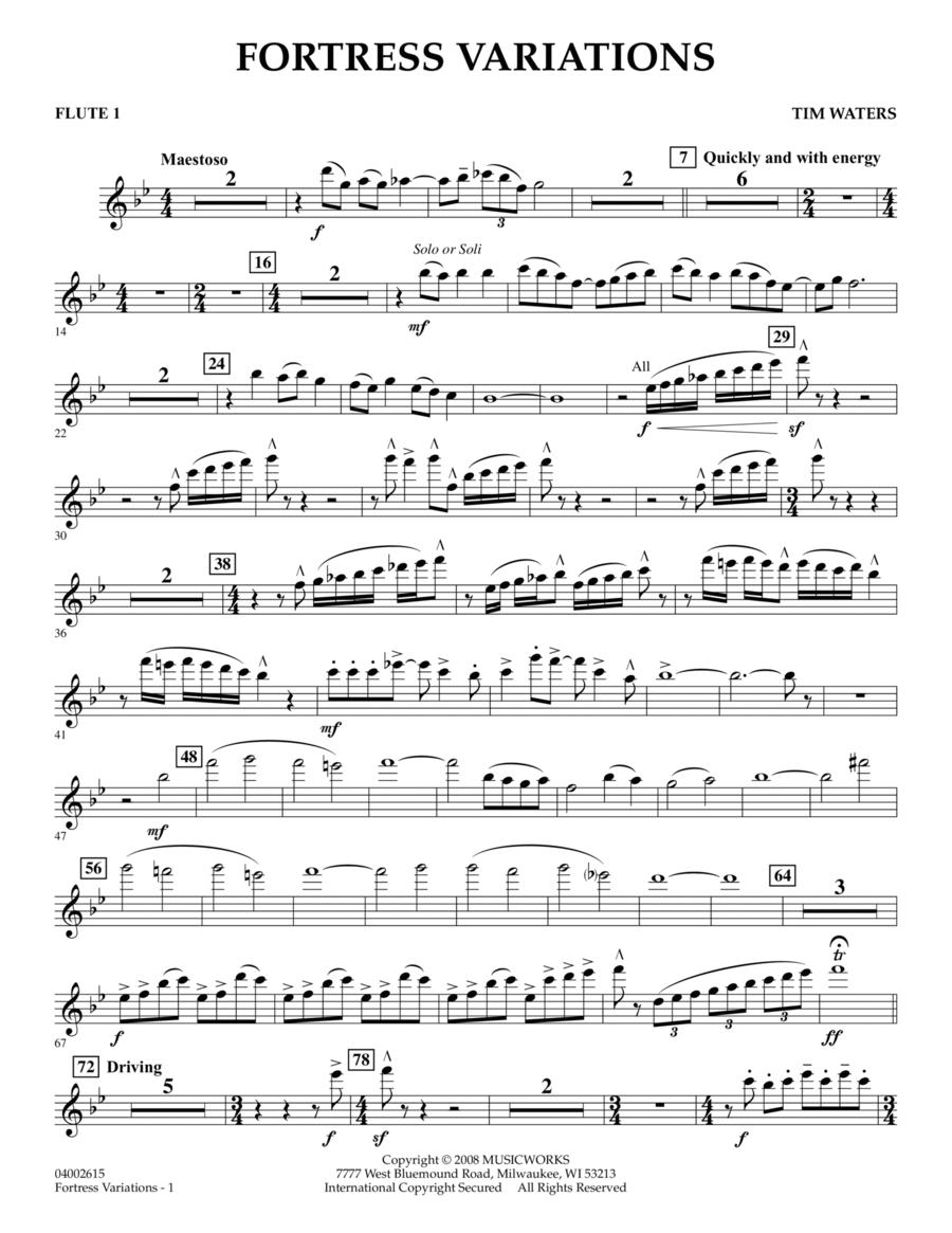 Fortress Variations - Flute 1