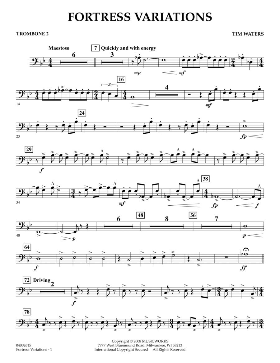 Fortress Variations - Trombone 2