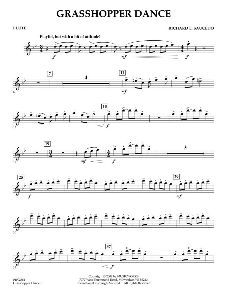 Grasshopper Dance - Flute