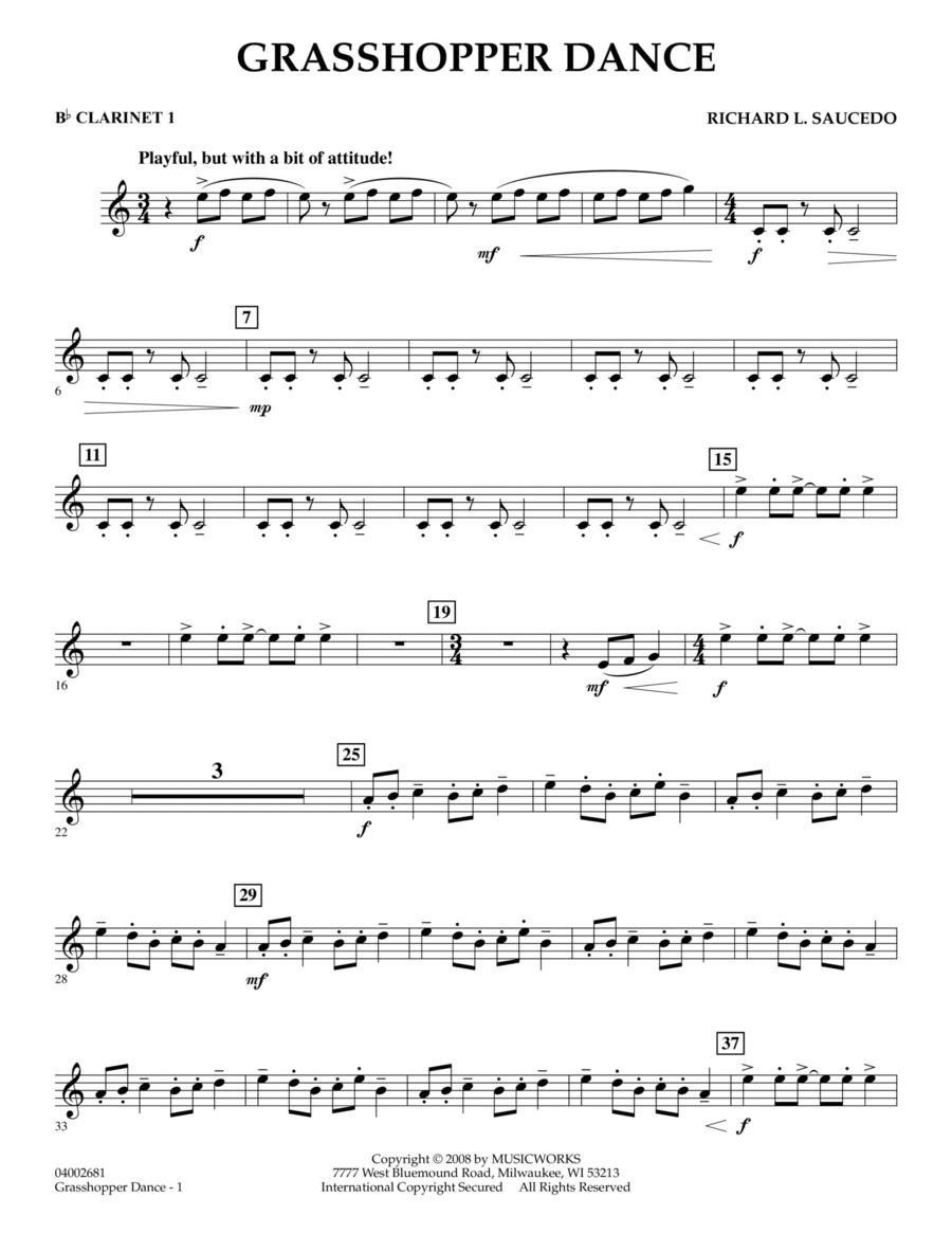 Grasshopper Dance - Bb Clarinet 1