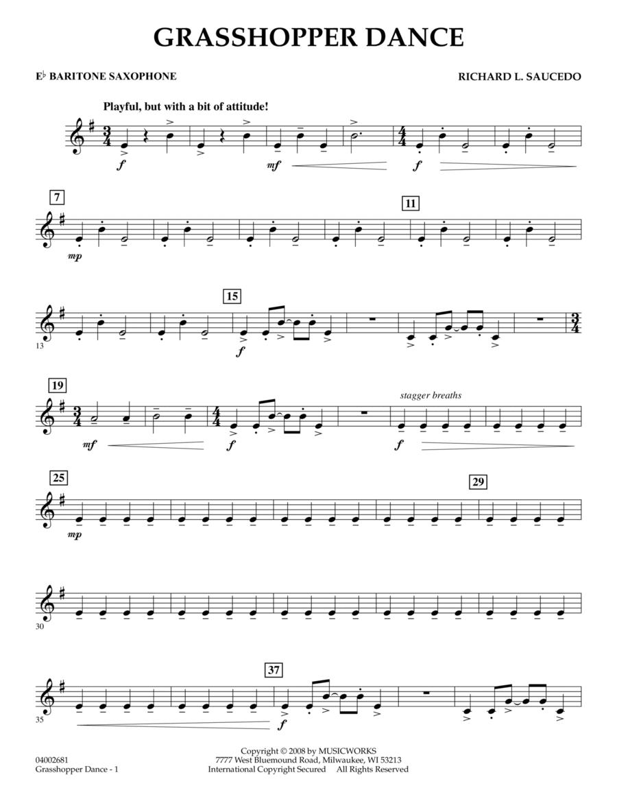 Grasshopper Dance - Eb Baritone Saxophone