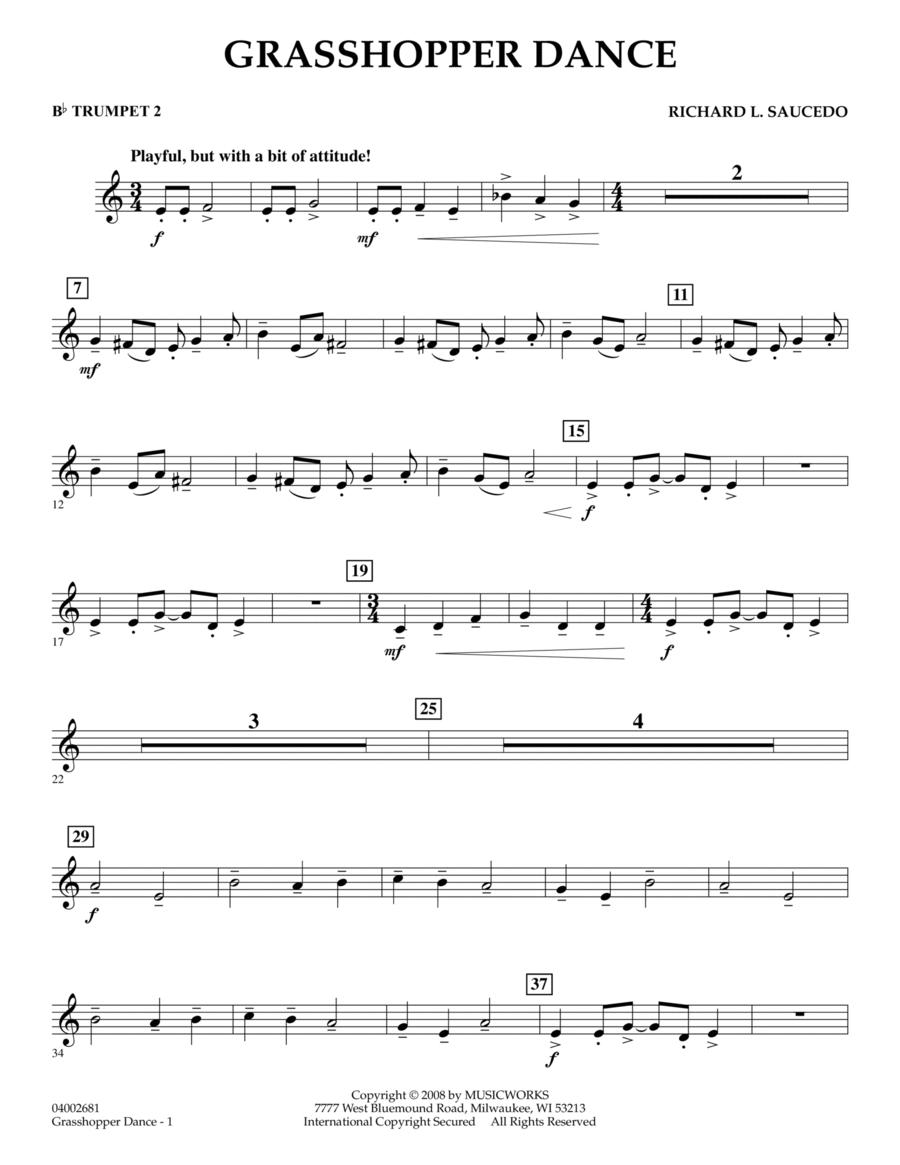 Grasshopper Dance - Bb Trumpet 2