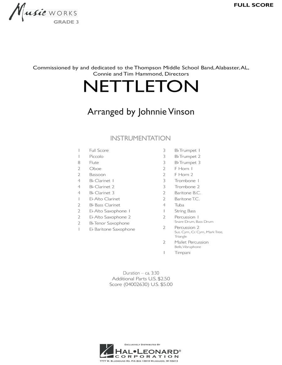 Nettleton - Full Score
