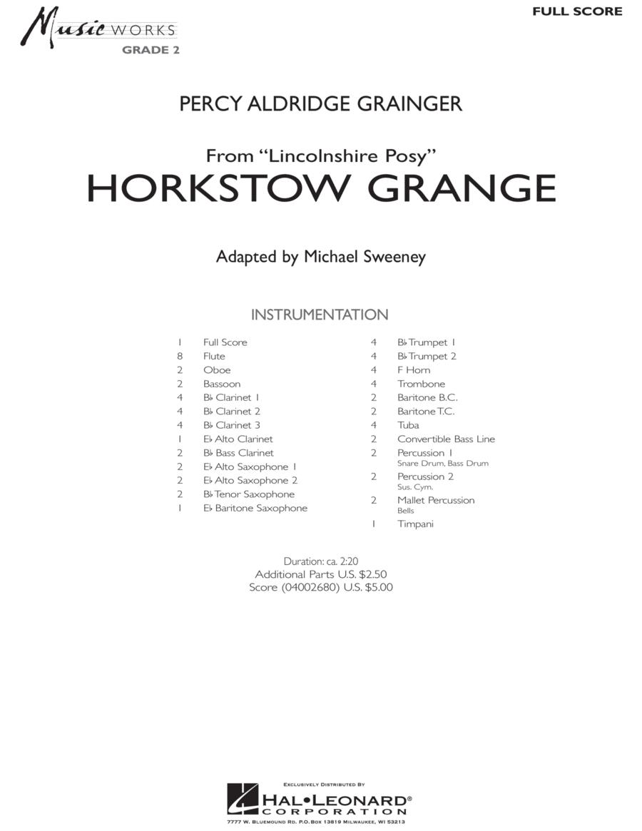 Horkstow Grange - Full Score