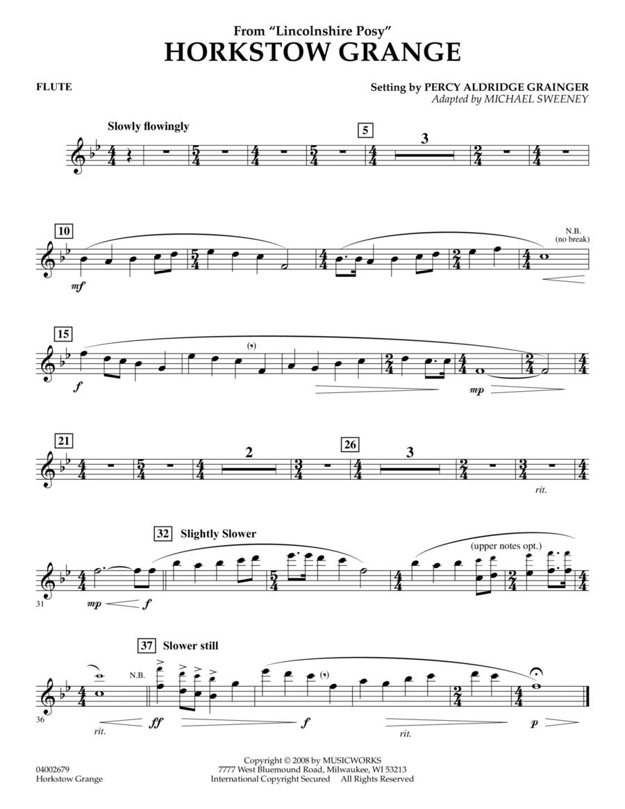 Horkstow Grange - Flute