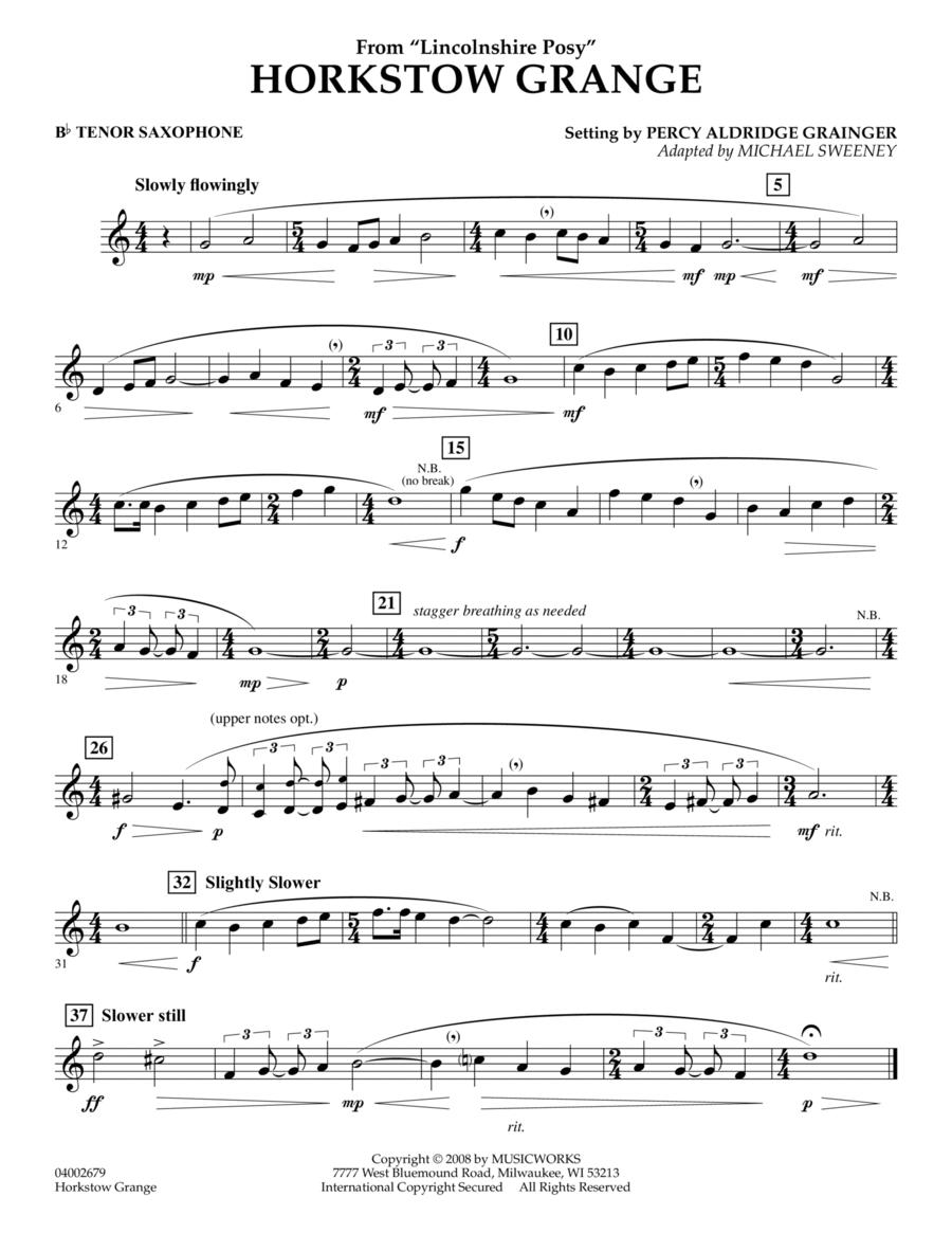 Horkstow Grange - Bb Tenor Saxophone