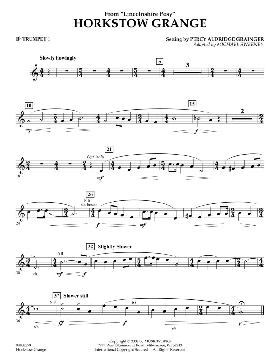 Horkstow Grange - Bb Trumpet 1
