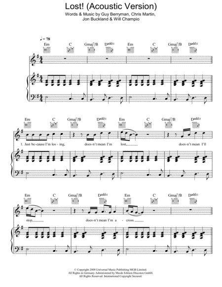 Lost! (Acoustic Version)